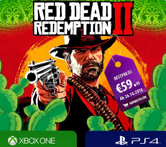Red Dead Redemption 2 für Playstation 4 & Xbox One